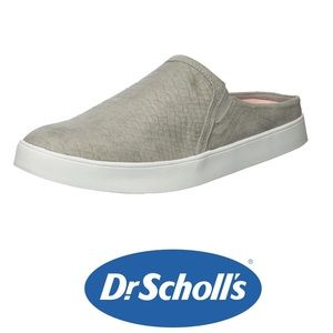 Dr.Scholls Madi Mule Grey with Snake Skin Texture